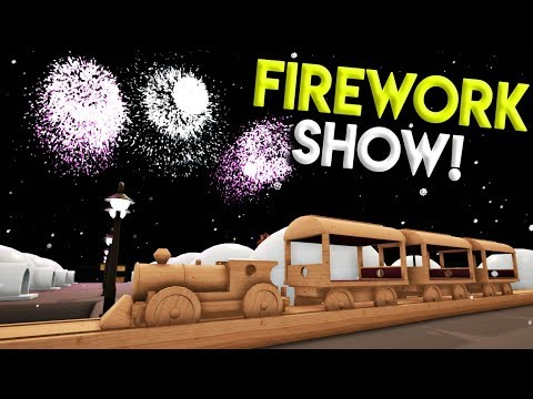 SPACE TRAIN & EPIC FIREWORKS SHOW! - Tracks- The Train Set Game Gameplay- Stunts & Crashes