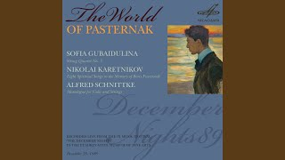 Eight Spiritual Songs to the Memory of Boris Pasternak: VII. Praise ye the name of the Lord (Live)