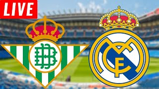 2-3 REAL BETIS VS REAL MADRID LIVE STREAM Football Watchalong La liga live real madrid vs real betis