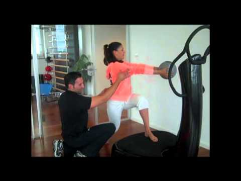 Power Plate mit Funda Vanroy (Folge 5) - YouTube