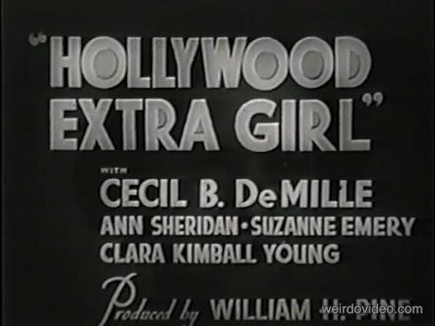 Hollywood Extra Girl - 1935