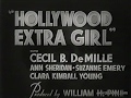 Hollywood Extra Girl - 1935