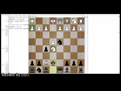 Chess Game In PYTHON With Source Code
