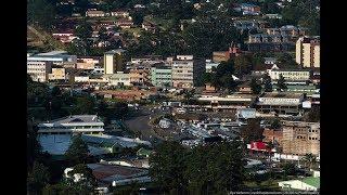 Mbabane is the capital of the Kingdom of eSwatini, Mdzimba Mountains, Mbabane River, Polinjane River