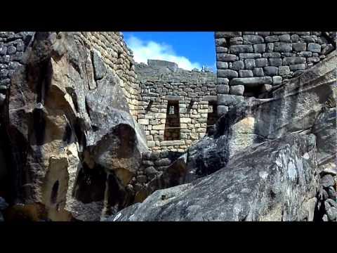 Out of breath at Machu Picchu, Peru.