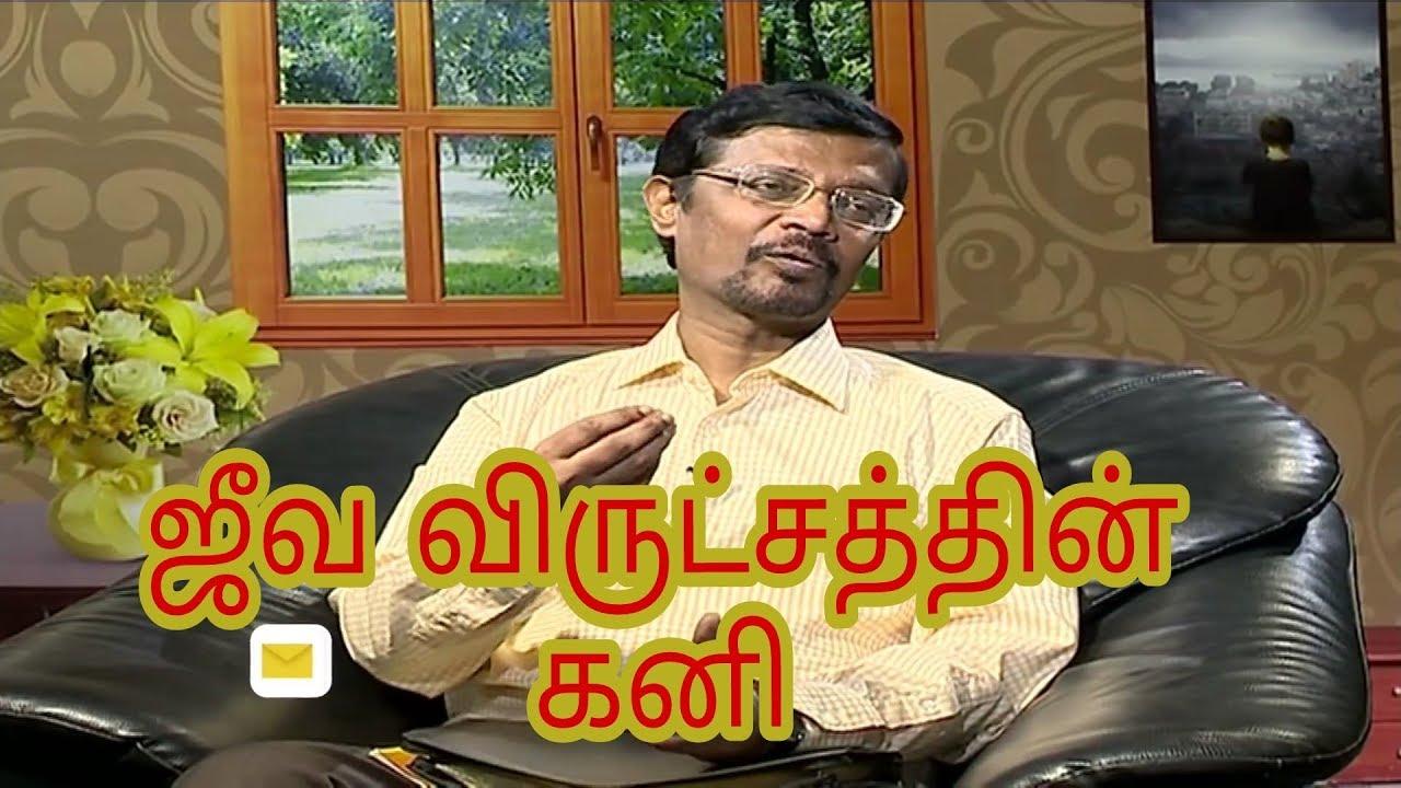 Vincent Selvakumar message - ஜீவ விருட்சத்தின் கனி