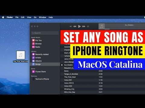 Make Ringtone For IPhone Using MacOS Catalina!