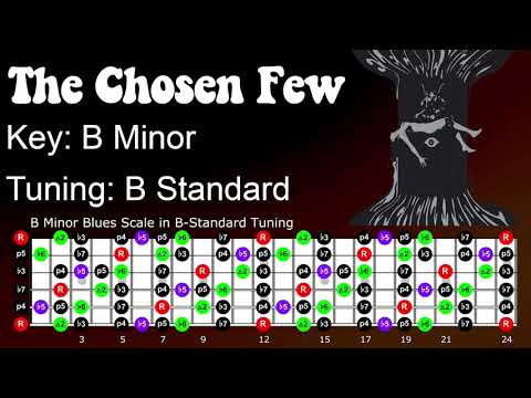 Electric Wizard The Chosen Few Guitar Jam Track In B Minor