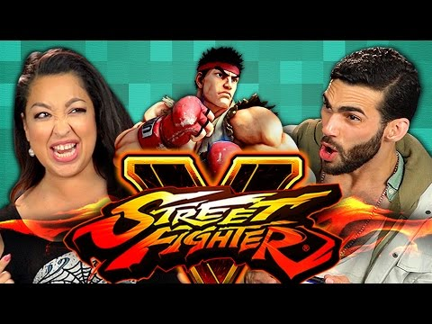 ADULTS PLAY STREET FIGHTER V (Adults React: Gaming)