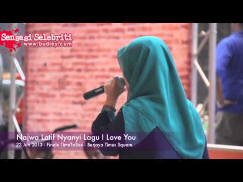 Najwa Latif Nyanyi Lagu I Love You