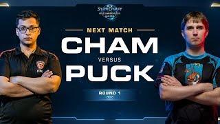 Cham vs puCK ZvP - Round of 8 - WCS Winter Americas