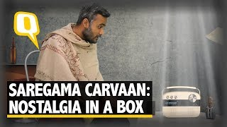 Saregama carvaan: a bluetooth music player with a retro twist
