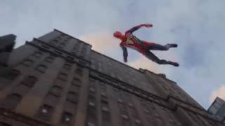 Reaction to Sony E3 Spiderman PS4 game trailer