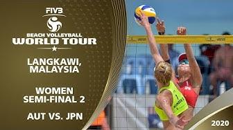 LIVE 🔴 - Women's Semi-Final 2 | 1* Langkawi (MAS) - 2020 FIVB Beach Volleyball World Tour