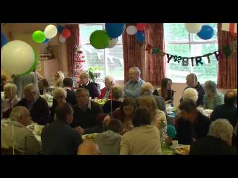 Golden Freds 90th Birthday Party Celebration