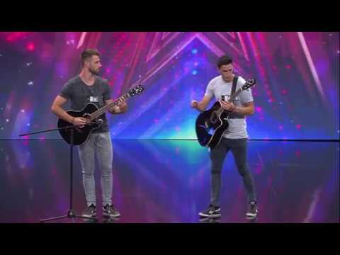 Flipping Art Acrobatic Duo│Ostalo│Supertalent Hrvatska 2017.│Audicija