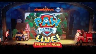 «PAW Patrol Live!: Entrar em Ação» - Introdução