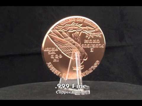 • INCUSE INDIAN Design 5 oz • .999 Copper Bullion 63MM BIG 5oz Coin