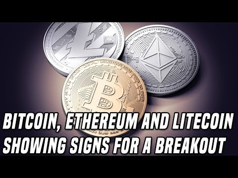 Bitcoin, Ethereum, & Litecoin Showing Signs Of A Breakout In September