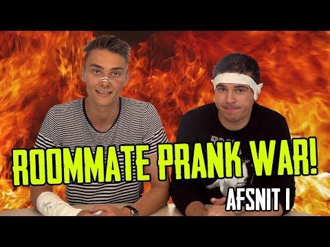 3 GANGE PÅ HOSPITALET // Ultimativ roommate prankwar - Afsnit 1
