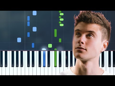 Alec Benjamin - 'Let Me Down Slowly' Piano Tutorial - Chords - How To Play - Cover