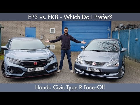 EP3 vs. FK8 - Which Do I Prefer? Honda Civic Type R Face-Off