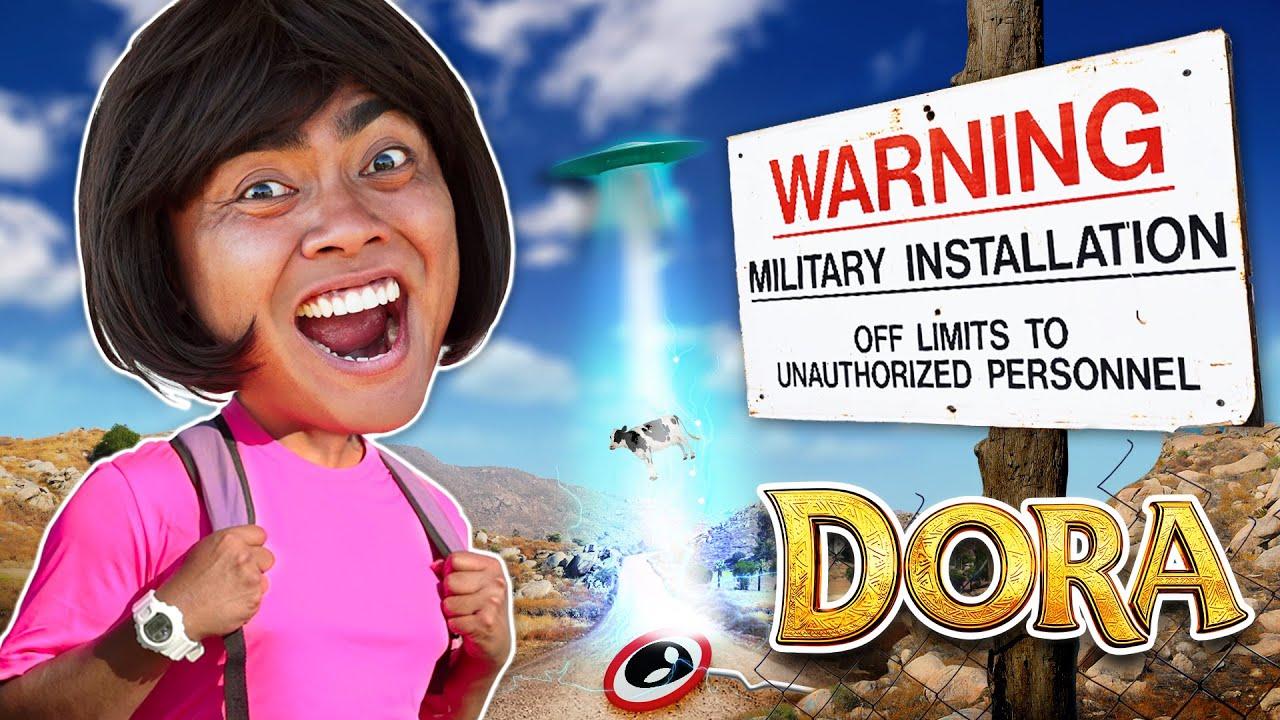 Download Dora The Explorer Goes to Area 51 (Parody)