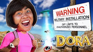 Dora The Explorer Goes to Area 51