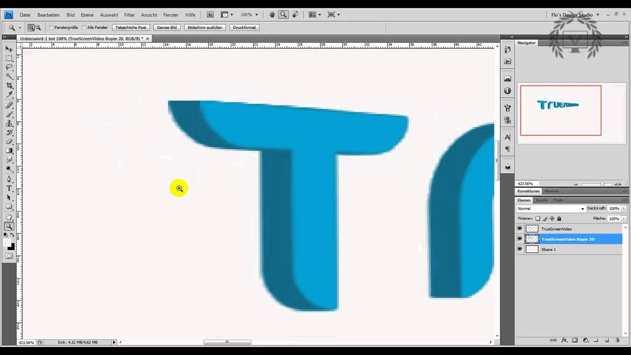 Photoshop 3d Text Erstellen Hdgerman Youtube