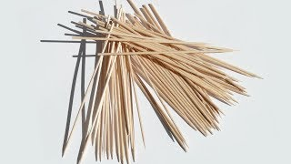 How to recycle bamboo sticks/skewers| How to make Christmas decor| Best Reuse idea
