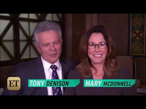 Mary McDonnell & Tony Denison   HandsClap  