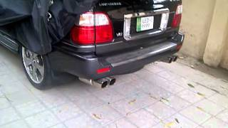 Land Cruiser Cygnus custom exhausts!!!