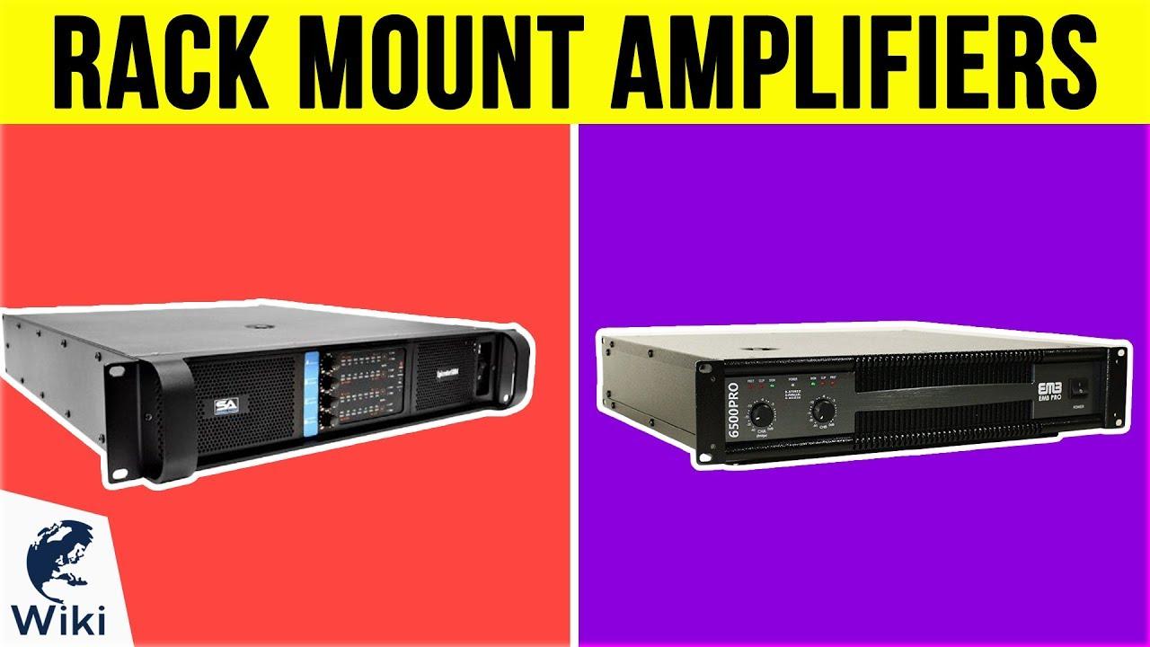 10 best rack mount amplifiers 2019