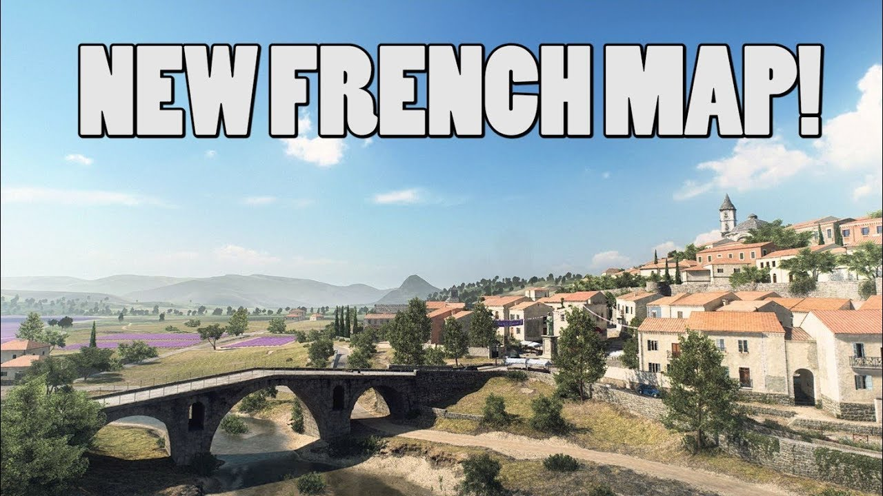 NEW FRENCH MAP LEAKED! - Battlefield V