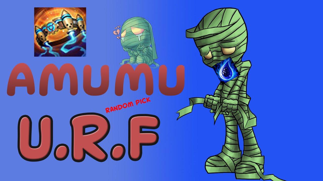 Amumu U.R.F - Random Pick - League Of Legends på svenska!