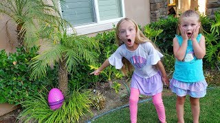 Giant Hidden Mystery Egg Found! What Do We Hatch?!