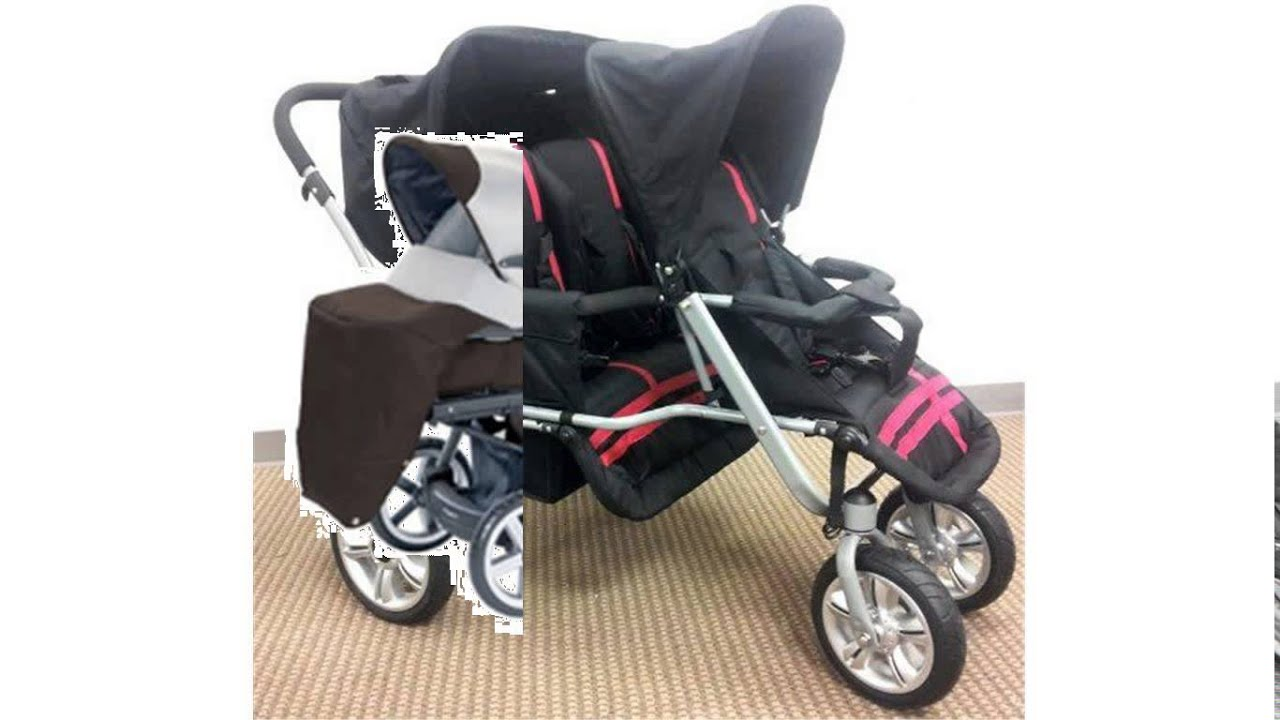 Baby Strollers For Triplets Youtube
