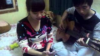 Con Tim Mong Manh Guitar - Hến izmi :))