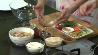 Chương trình dạy nấu món chay Gỏi ngó sen Hướng dẫn: Nguyễn Dzoãn C...