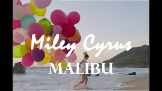 Miley Cyrus - Malibu (lyrics + download links on description)