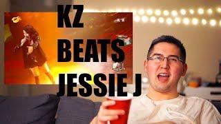KZ Tandingan Beats Jessie J SINGER [Reaction]