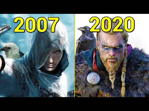 Evolution Of Assassin's Creed Games 2007-2020
