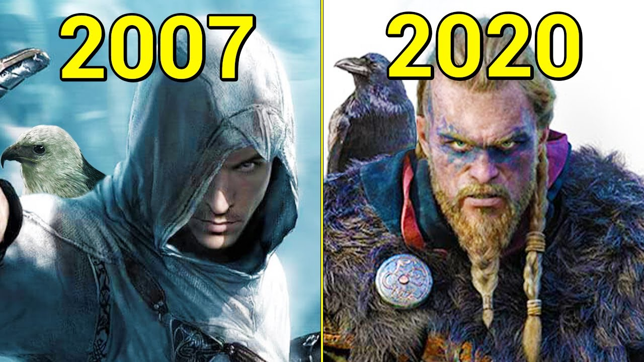 Evolution Of Assassin S Creed Games 2007 2020 Youtube