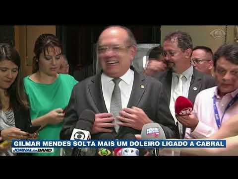 Gilmar Mendes Solta Doleiro Ligado A Sérgio Cabral