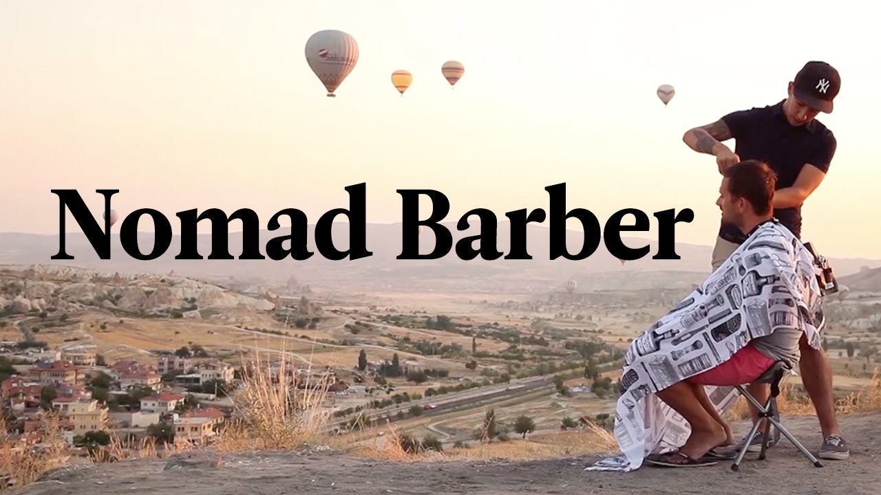 Meet The Nomad Barber Who Travels The World Giving Haircuts