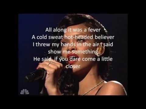 Rihanna-Stay (Lyrics)