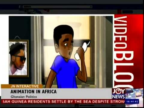 Animation in Africa - Joy News Interactive (11-9-14)