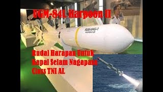 UGM 84L Harpoon II, Rudal Harapan Untuk Kapal Selam Nagapasa Class TNI