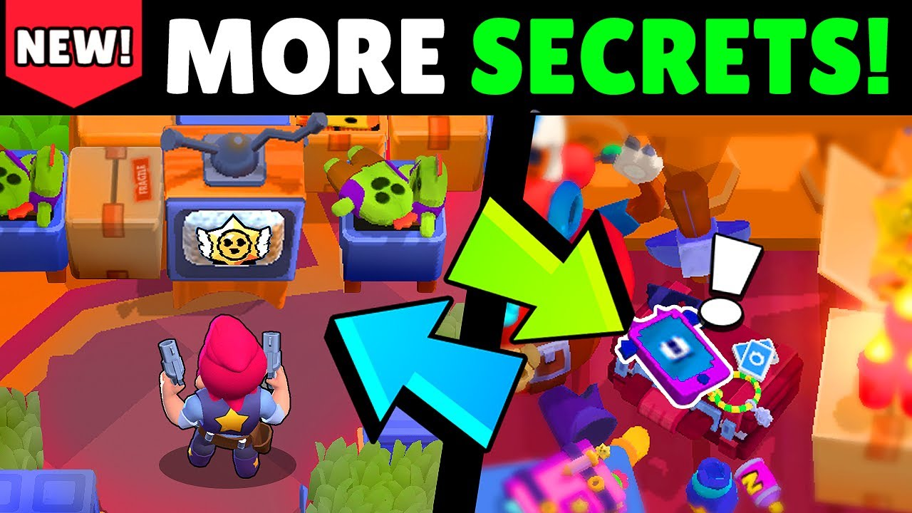 ⚠️MORE SECRET CHANGES! in this Brawl Stars #Starrpark update