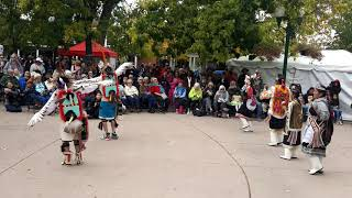 Santa Fe Indigenous Day Commemoration 2018 -  ZUNI Eagle Dance Part II